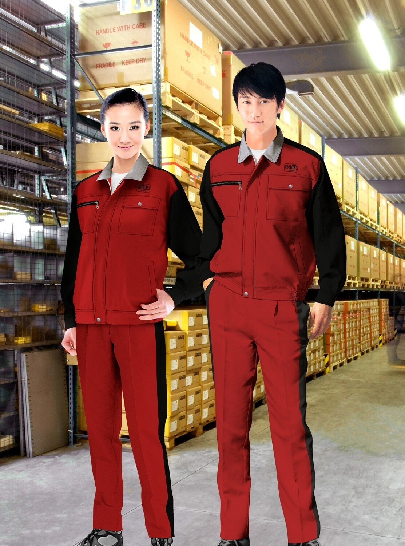 生产加工工作服_安装工人工作服